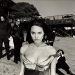 Imágenes de Angelina Jolie en blanco y negro