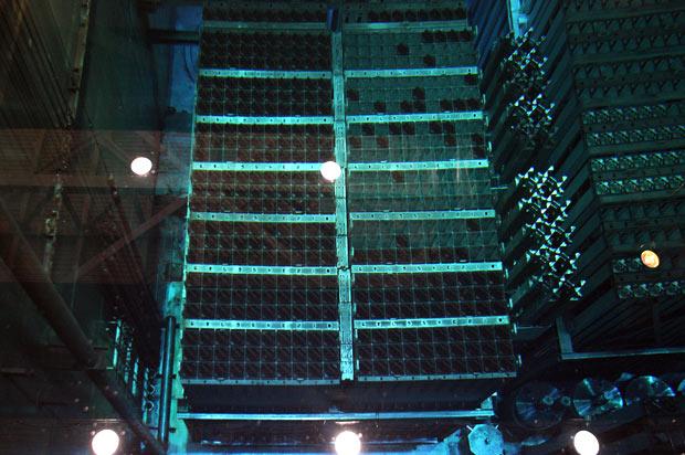 barras nucleares plutonio uranio pisicina fukushima