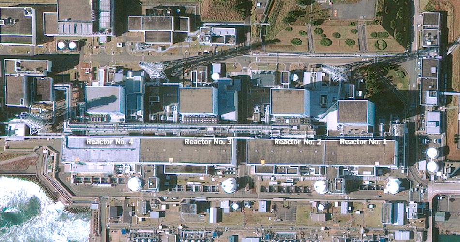 central nuclear kufushima dai ichi japon antes before