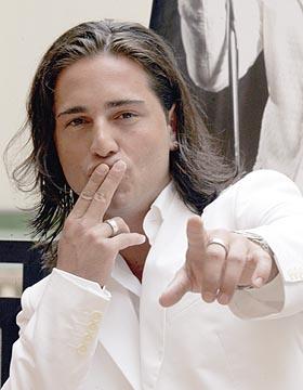 David Bustamante, cantante español