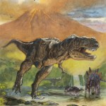 dinosaurios rio ilustracion