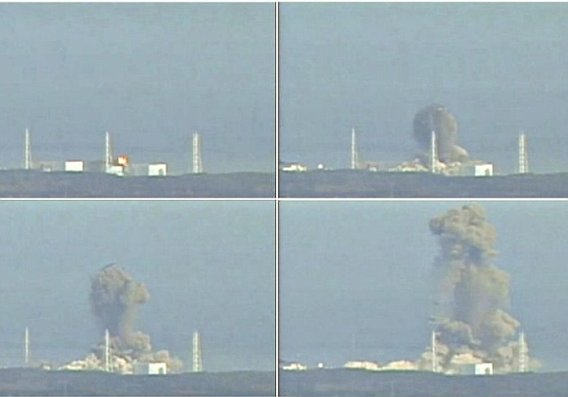 explosion central nuclear fukushima japon 2011