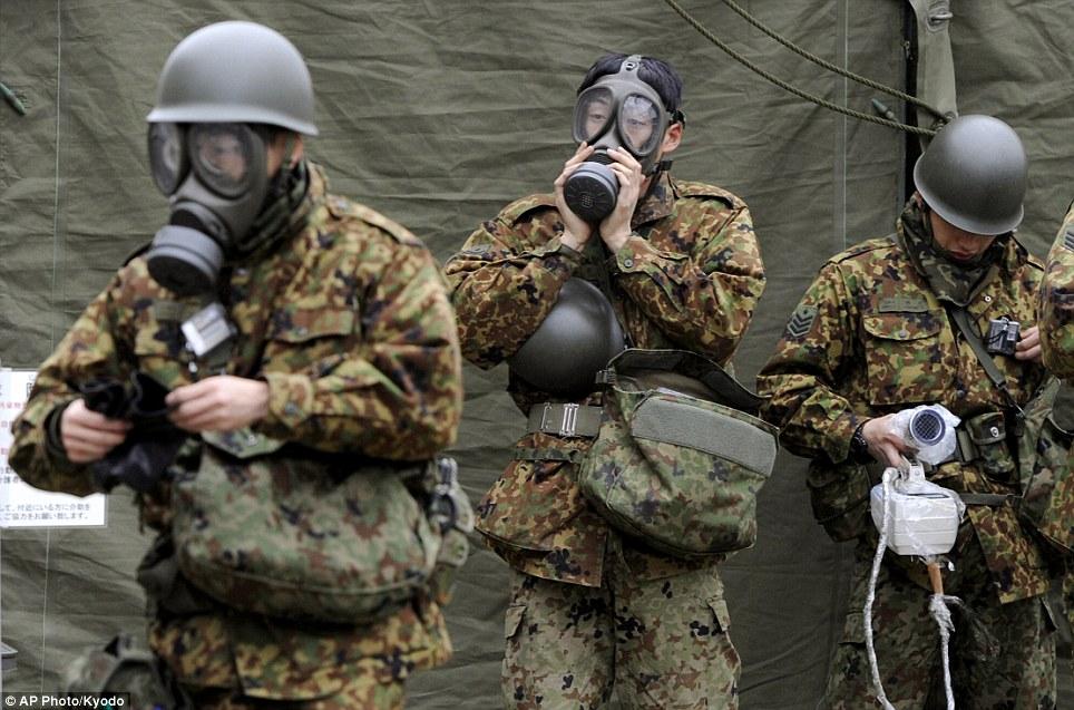 explosion central nuclear fukushima japon mascaras radiacion