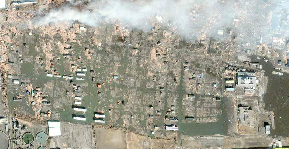 foto terremoto tsunami norte sendai ishinomaki satelite despues