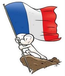 france bandera francia flag Toujours être ailleurs