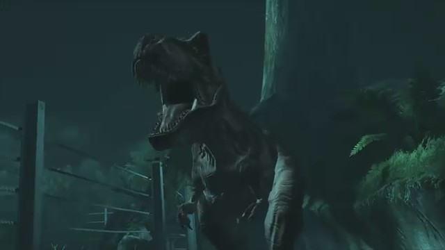 jurassic park the movie videojuego t rex