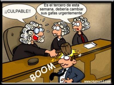 juzgado juez humor risa chiste grafico