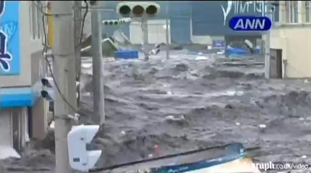 kesennuma calle riada terremoto japon 2011 tsunami video