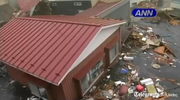 kesennuma casa riada terremoto japon 2011 tsunami video