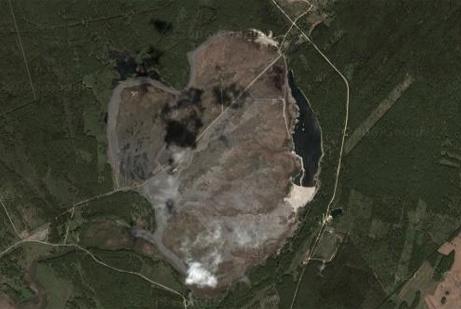 lago karachai lake karachay nuclear radiactividad