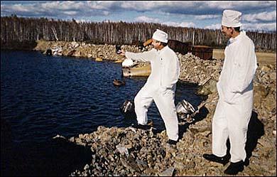 lago karachai lake karachay personas radiactividad