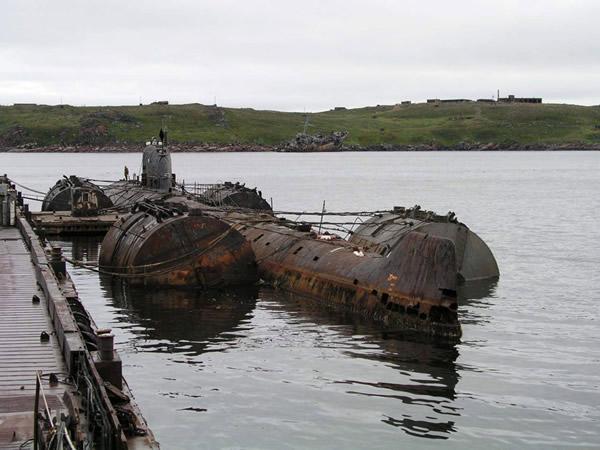 lago karachai lake karachay submarino radiactividad