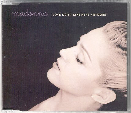madonna love don t live here anymore alemania german cd single sencillo
