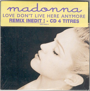 madonna love dont live here anymore alemania germany cd single sencillo