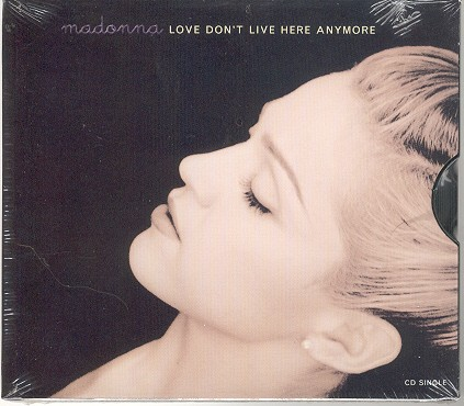 madonna love dont live here anymore usa cd single