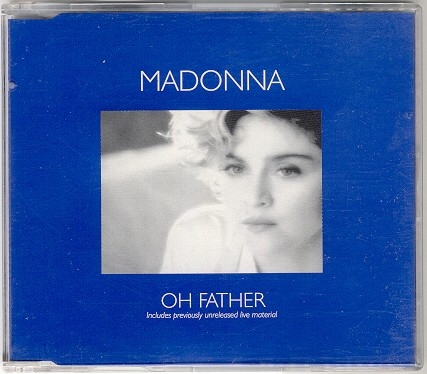 madonna oh father single sencillo alemania german CD