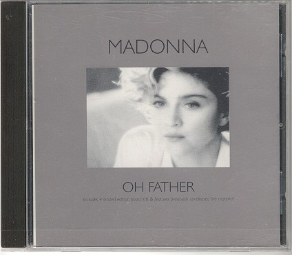 madonna oh father single sencillo reino unido uk