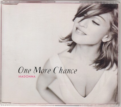 madonna one more chance single sencillo alemania germany CD