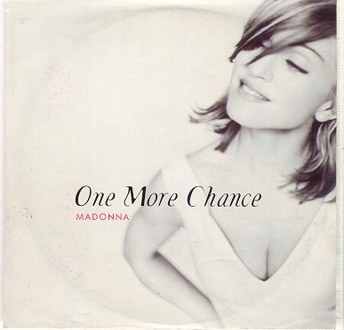 madonna one more chance single sencillo reino unido uk CD