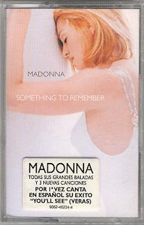 madonna something to remember casete 2 edicion alemania