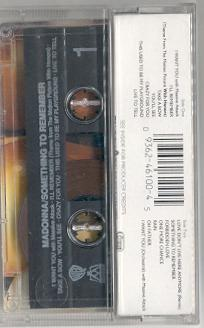 madonna something to remember cassette alemania