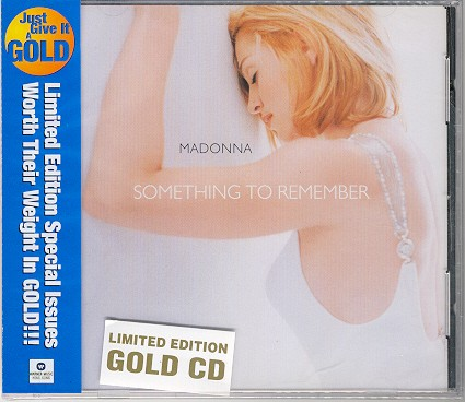madonna something to remember cd Hong Kong