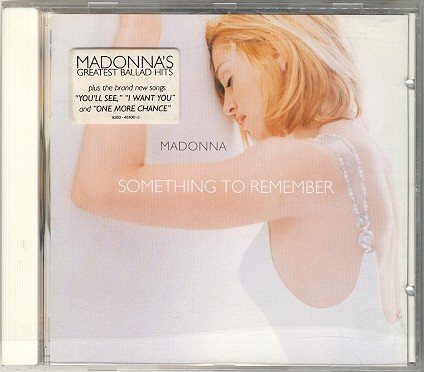 madonna something to remember cd alemania
