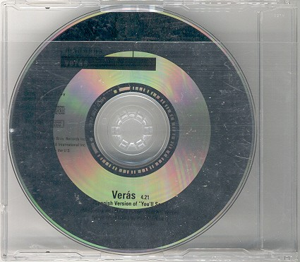 madonna veras single sencillo promo alemania germany