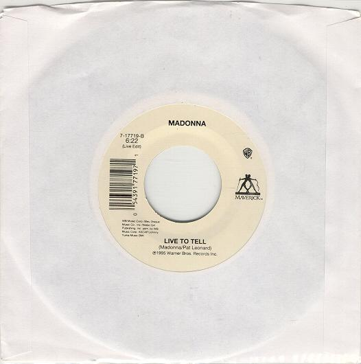 madonna youll see single sencillo USA 7 inch vinyl