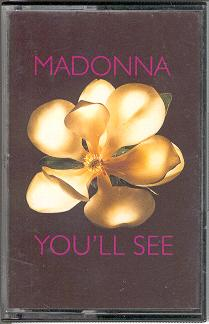 madonna youll see single sencillo cassette uk reino unido