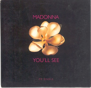 madonna youll see single sencillo cover