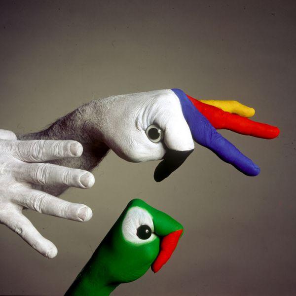 pintura corporal manos mario mariotti body painting