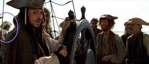 pirata caribe perla negra error gazapo fallo