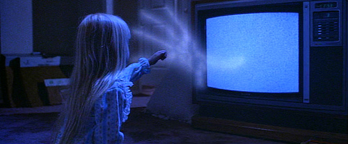 poltergeist nina television fantasma