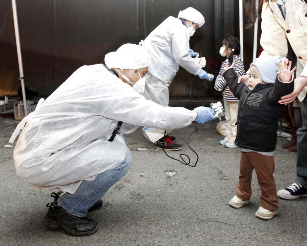 radiactividad japon central nuclear 2011 personas