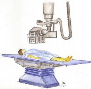 radiografia rayosX radiacion