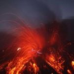 Vídeo de la erupción del volcán Sakurajima