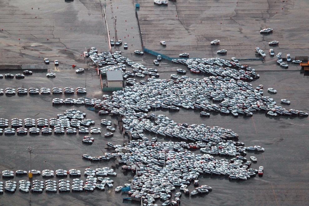 seismo japon 8.9 2011 tsunami coches Hitachinaka Ibaraki