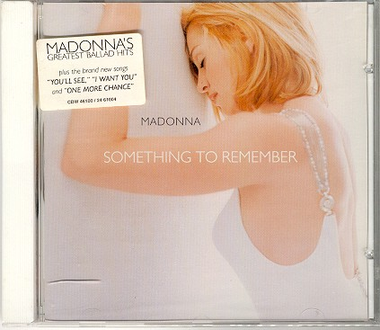 something to remember album cover canada