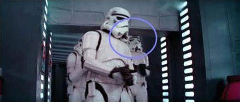 star wars stormtrooper error gazapo fallo