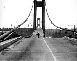 tacoma narrows colgante puente bridge 1940