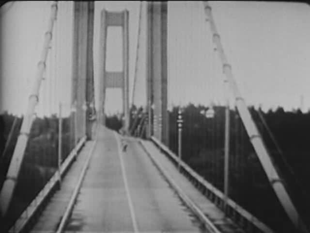 tacoma narrows corriente aire puente bridge 1940