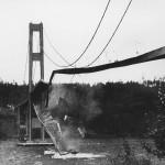 Derrumbe del puente Tacoma Narrows en 1940