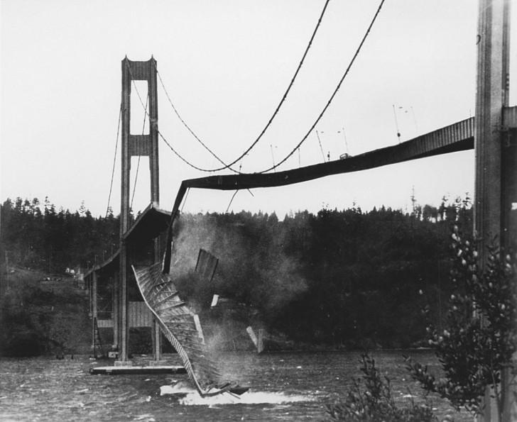derrumbe del puente tacoma narrows en  blogodisea
