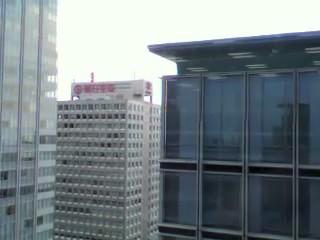 terremoto japon 11 marzo 2011 edificio moviendose