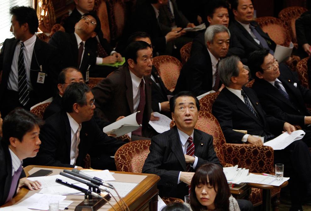 terremoto japon 8.9 2011 Naoto Kan presidente temblor nhk