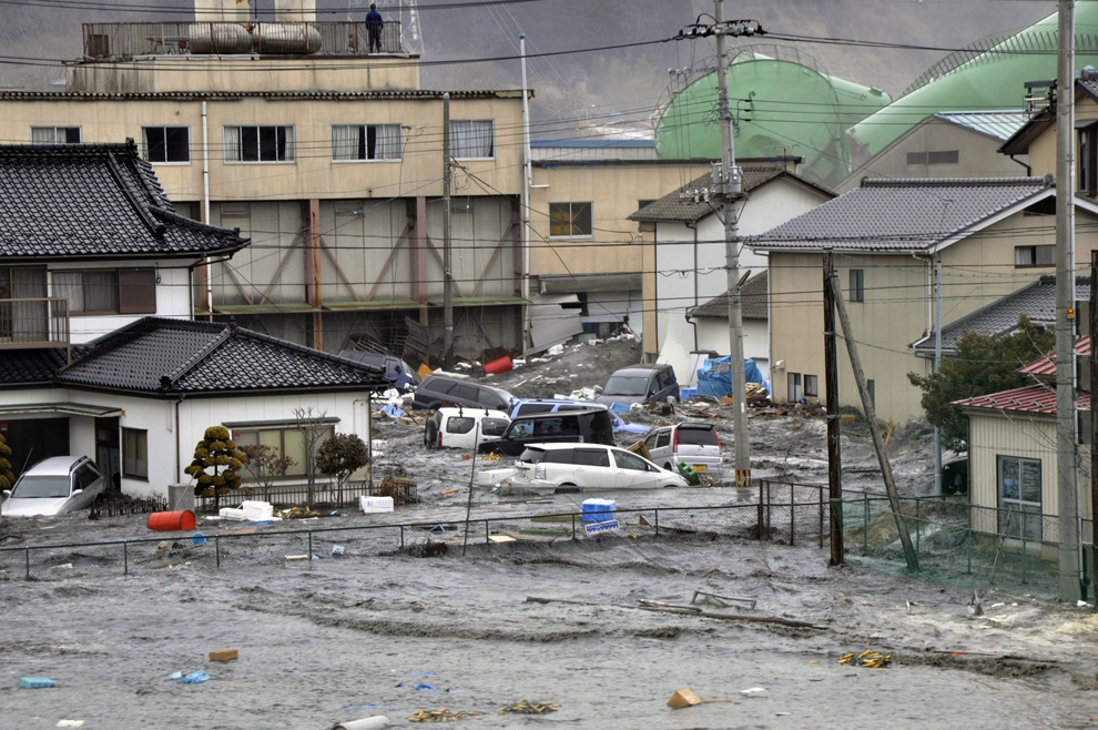 terremoto japon 8.9 2011 edificios agua Kesennuma Miyagi tsunami