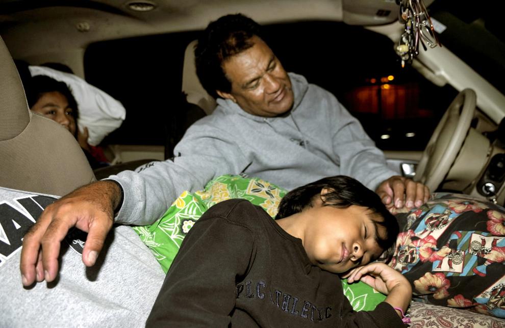 terremoto japon 8.9 2011 familia coche manoa hawai tsunami refugio