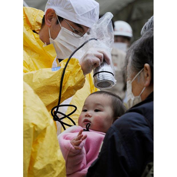 tsunami japon terremoto 2011 Fukushima radiacion bebe