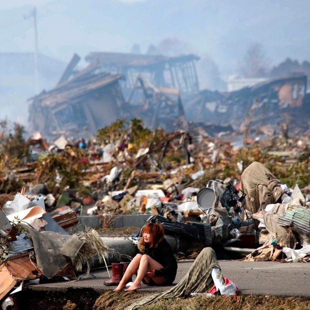 tsunami japon terremoto 2011 mujer Natori Miyagi
